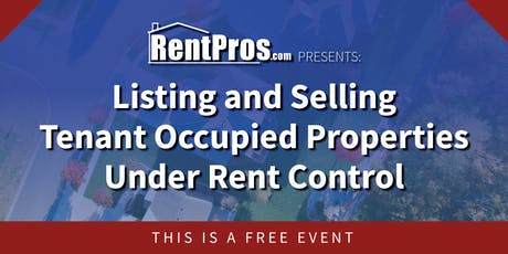Rent Control for Realtors tickets