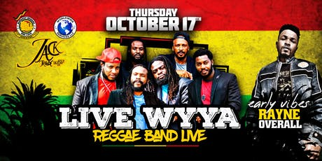 LIVE WYYA - REGGAE BAND (FROM JAMAICA) tickets