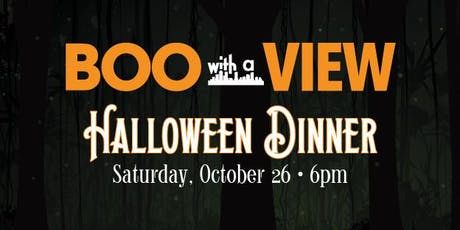 Boo With A View Halloween Dinner tickets