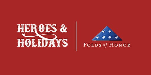 2nd Annual Folds of Honor Heroes & Holidays Party