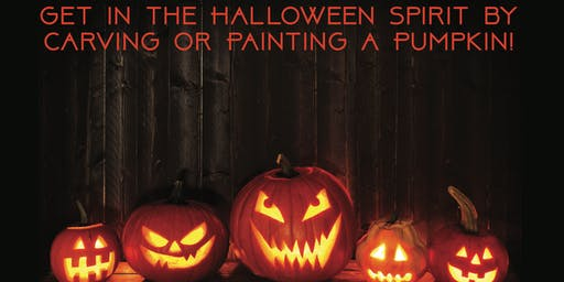 Community Pumpkin Carving Event and Contest