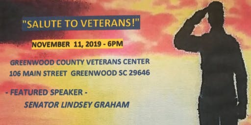 Greenwood County Republican Party's Salute to the Veterans