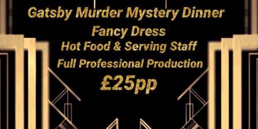 GATSBY THEMED MURDER MYSTERY DINNER