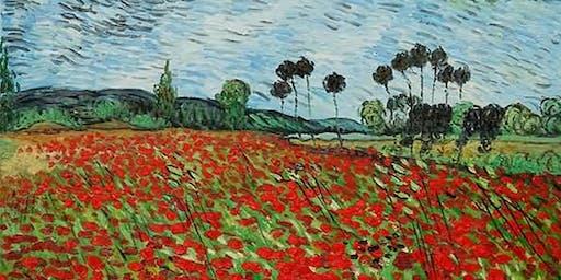 Paint like Van Gogh + Wine!