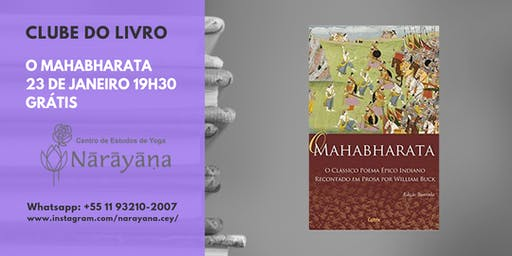Clube do Livro Narayana - O Mahabharata