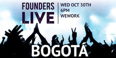 Founders Live Bogotá billets