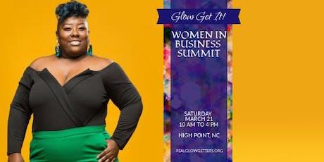Glow Get It Women In Business Summit tickets