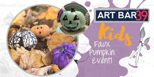Kids Painting Party | Faux Pumpkin Painting | Includes Cookies & Milk!