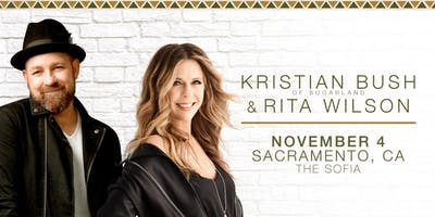 Kristian Bush (of Sugarland) and Rita Wilson