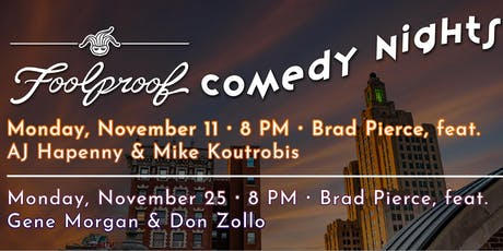 November Foolproof Comedy Nights @ The Rooftop tickets