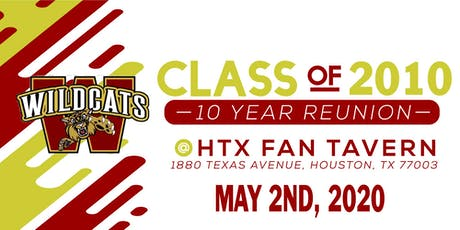 Cy Woods Class of 2010's 10 Year Reunion tickets