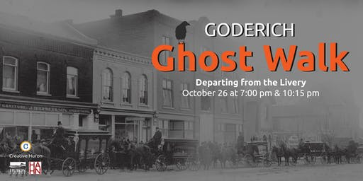 Goderich Ghost Walk - 7 pm Start