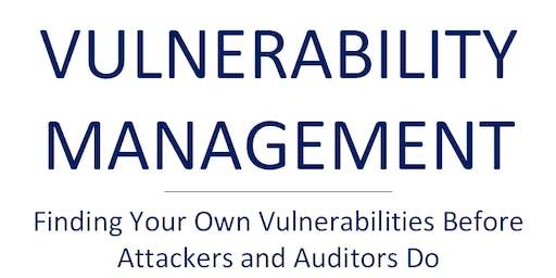 ISSA Workshop: Vulnerability Management (Find Your Vulnerabilities)