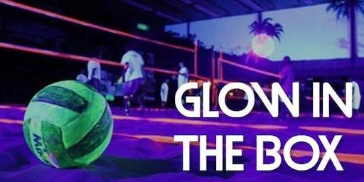 Blacklight volleybal toernooi