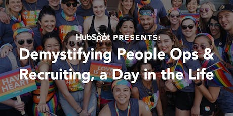 HubSpot Presents: Demystifying People Ops & Recruiting, a Day in the Life tickets