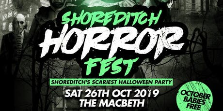 SHOREDITCH HORROR FEST tickets