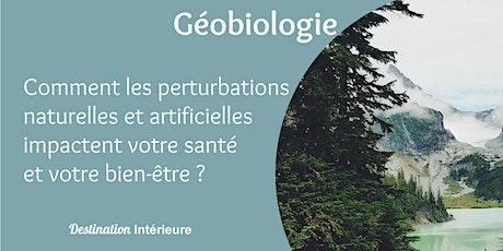 Géobiologie : Perturbations naturelles et artificielles dans l'habitat billets