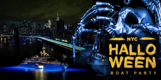 NYC HALLOWEEN BOAT PARTY CRUISE ,Cocktails & Music