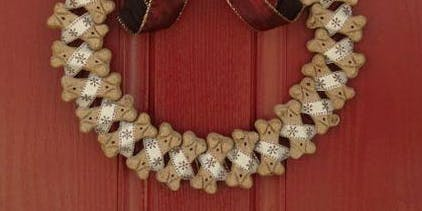 Dog Biscuit Banquet Wreath Workshop