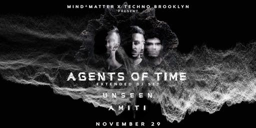 Mind-Matter x Techno Brooklyn: Agents Of Time [Extended DJ Set]