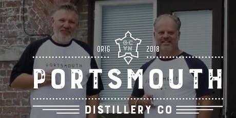 Fresh Kitchen & Portsmouth Distillery - Gin, Rum and Sharing Platters tickets