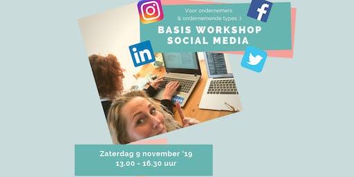 Workshop Social Media (basis)