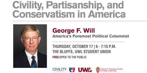 George Will - Civility, Partisanship, and Conservatism in America