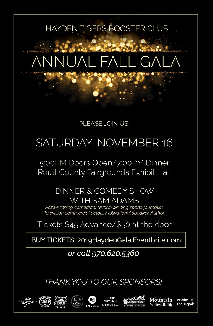 Hayden Tigers Booster Club Annual Fall Gala image