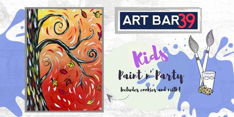Kids Painting Party | Kids Autumn Tree | Includes Cookies & Milk! tickets