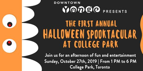 Halloween Spooktacular at College Park billets