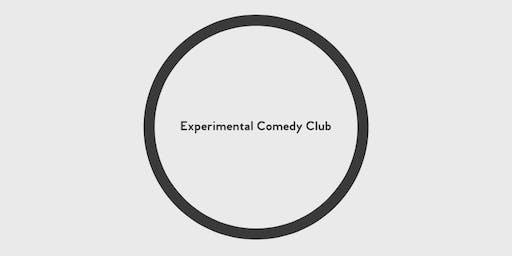 Experimental Comedy Club November 22nd