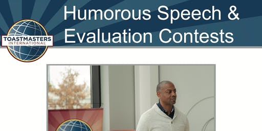 Toastmasters Area E53/E54 Humorous Speech & Evaluation Contest