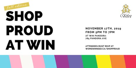 Shop Proud at WIN - Fall Edition tickets