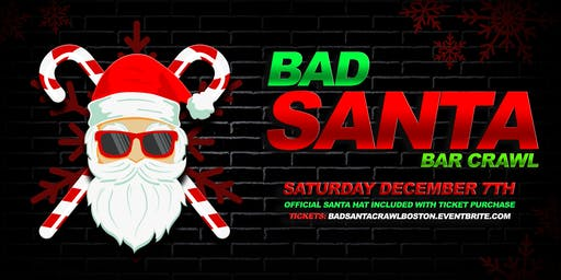 Bad Santa Pub Crawl 2019!