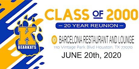 Klein High School, Class of 2000 - 20 Year Reunion!! tickets