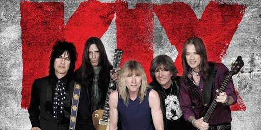 KIX at The Rail Club Live