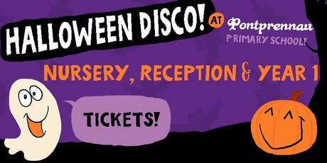 Halloween Disco Nursery, Reception & Year 1 tickets