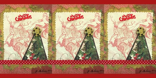 Holiday Card Making Workshop with Collage Artist J