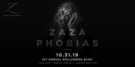 Hotel ZaZa Austin's Fright Night tickets