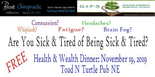 Health & Wealth Dinner