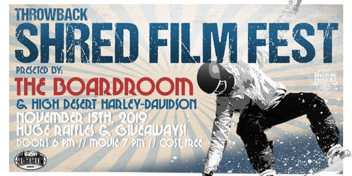 Shred Film Fest