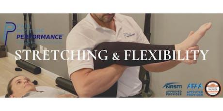 Stretching & Flexibility California tickets