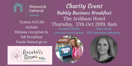 Charity Business Breakfast tickets