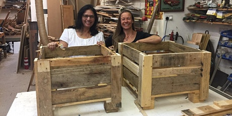 Pallet Upcycling - Make a Garden Planter to take away! tickets