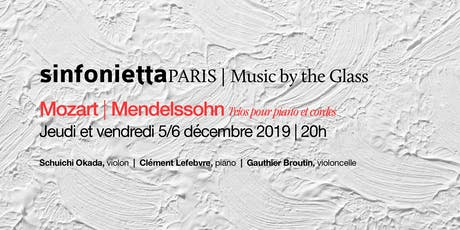 ⟪Music by the Glass⟫ série de décembre : jeudi 5 décembre 2019 | 20h00 billets
