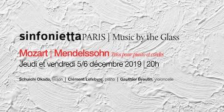 ⟪Music by the Glass⟫ série de décembre : jeudi 5 décembre 2019 | 20h00 tickets