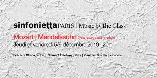 ⟪Music by the Glass⟫ série de décembre : jeudi 5 décembre 2019 | 20h00
