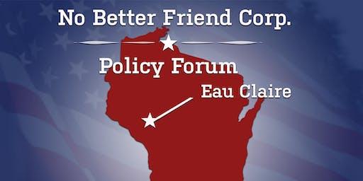 No Better Friend Corp. November Forum (Eau Claire)