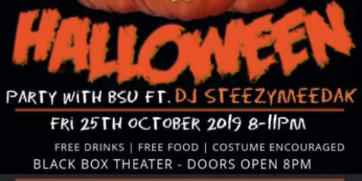 BSU's First Halloween Party