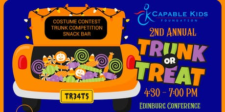 Capable Kids Foundation's Trunk o' Treat 2019 at Doctor's Hospital Renaissance: TRUNK ENTRY tickets